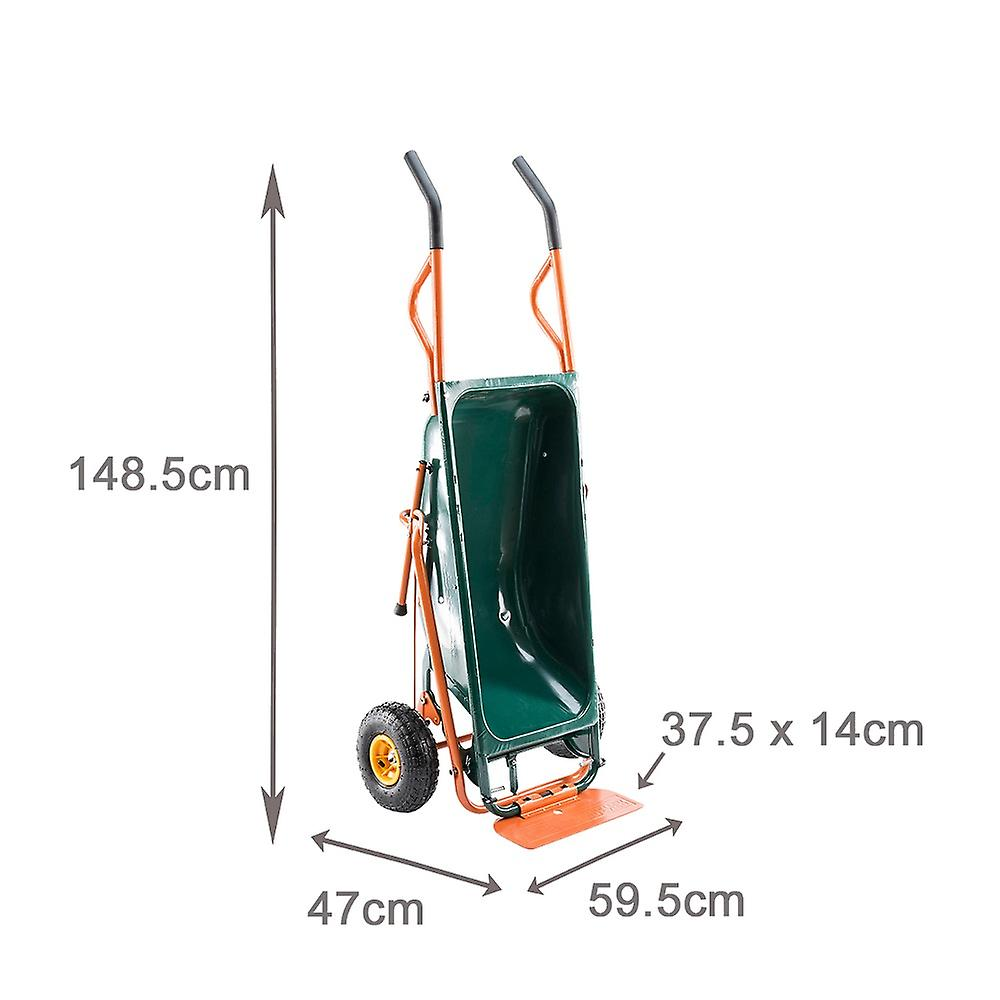Trueshopping 7 in 1 Multi-Function Wheelbarrow Lifter/Carrier and Mover