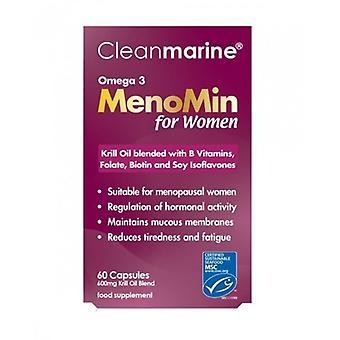 Cleanmarine Menomin pour femmes 600mg Gelcaps 60 (NOV014)