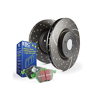 EBC Brakes S10KF1579 EBC Stage 10 Kit