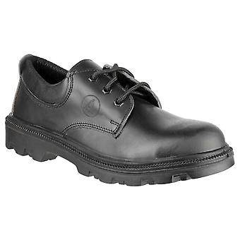 Amblers Safety Mens FS133 Pizzo su Safety Shoe Nero