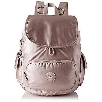 Kipling City Pack S - Sacs à dos roses pour femmes (Rose métallique) 32x37x18,5 cm (B x H T)