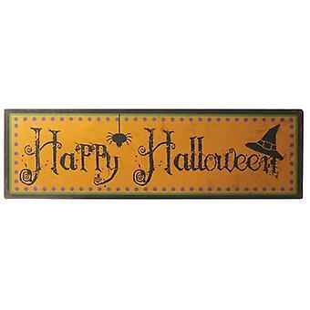 Happy Halloween Large Metal Sign