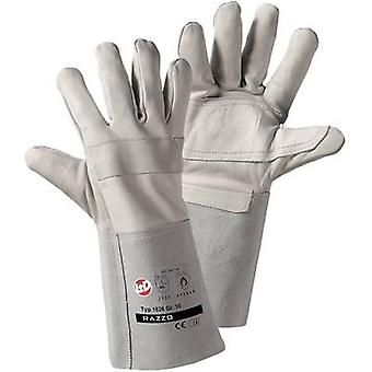 L+D worky RAZZO 1826 Full-grain cowhide Welding gloves Size (gloves): Unisize EN 12477-A, EN 388 , EN 407 CAT II 1 Pair