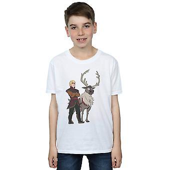 Disney Jungen frozen 2 Sven und Kristoff T-Shirt
