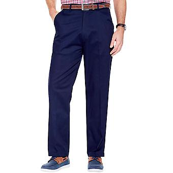 Pegasus Mens Stretch Fabric Chino Trousers With Adjustable Waist