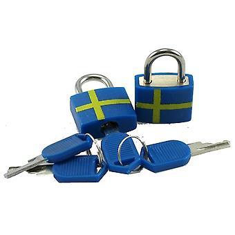 Hangslot Zweden 2-pack