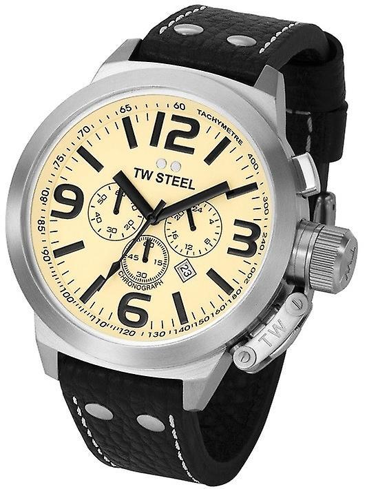 Tw Steel Tw3 Chronograph Xl Watch 50mm