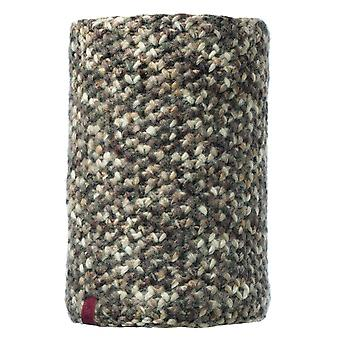 Buff Margo Knitted Neckwarmer Brown Taupe