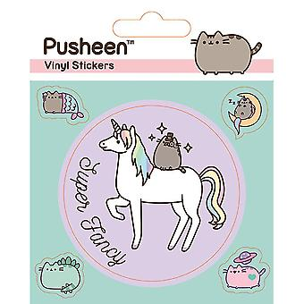 Pusheen Unicorn Vinyl Stickers (Pack of 5)