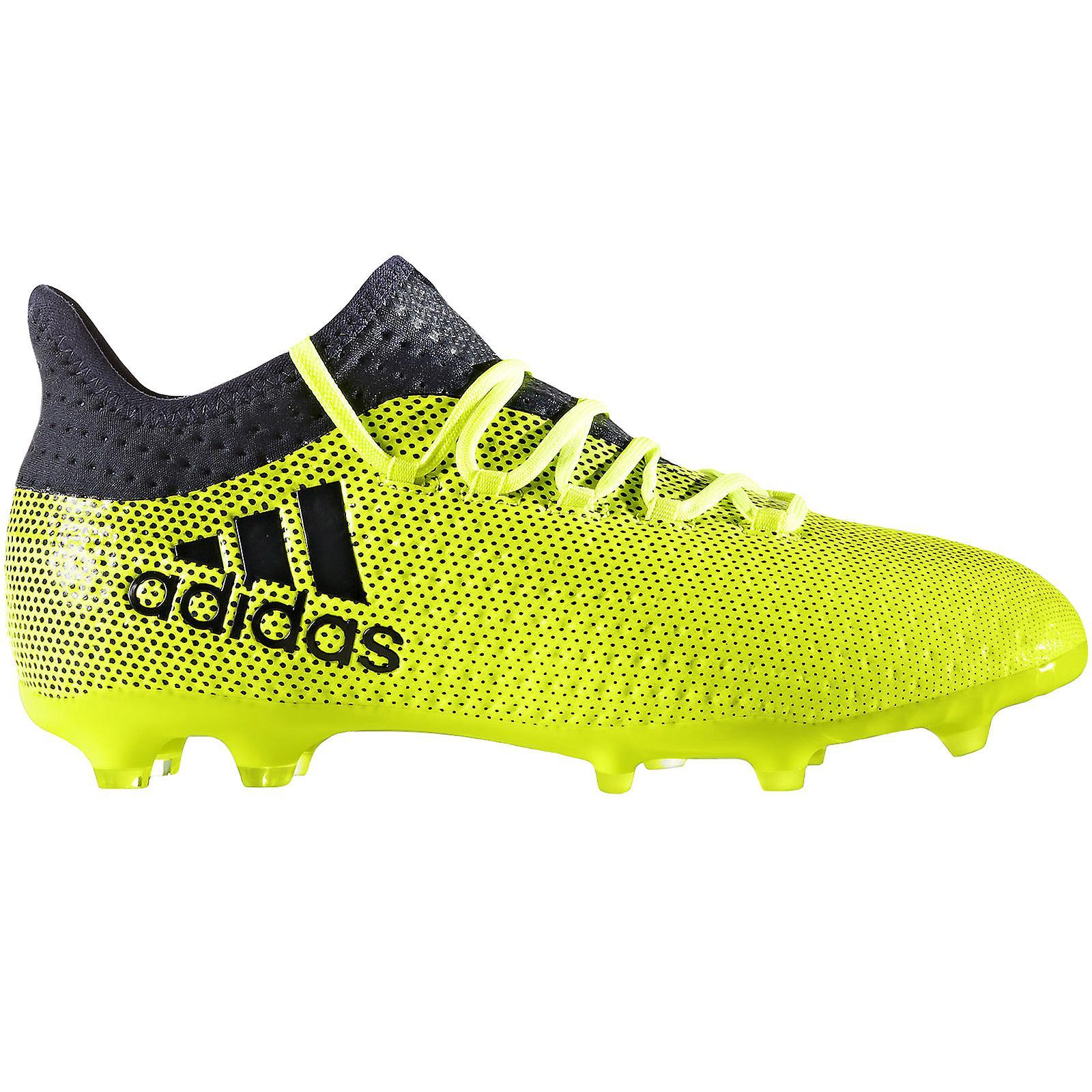 Adidas Performance Kids X 17,1 Firm bakken fotball sport trening støvler gul