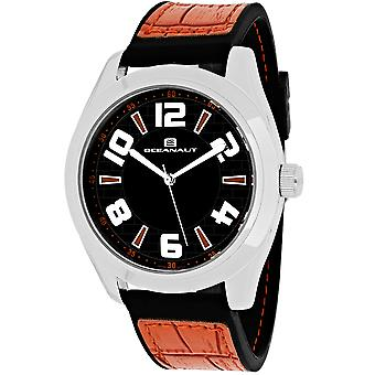 Oceanaut Men-apos;s Vault Black Dial Watch - OC7514