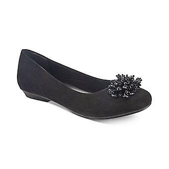 Karen Scott Womens Roice Flats Pumps Chaussures Noir 8.5 M US