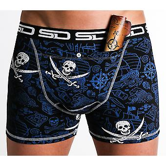 Smuggling Duds Stash Boxers - Pirate