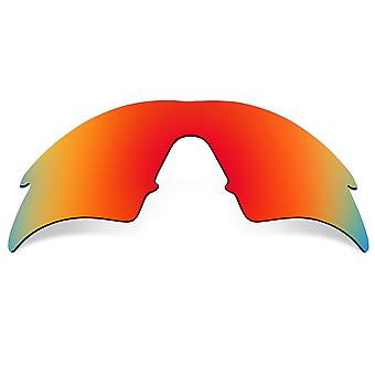 Replacement Lenses for Oakley M Frame Sweep Sunglasses Red Mirror Anti-Scratch Anti-Glare UV400 by SeekOptics