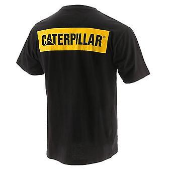 Caterpillar aikuisten Unisex Icon Block T-paita
