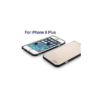Casco para iPhone 6 Plus / 6s Plus Contorno Preto Transparente