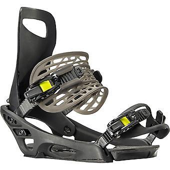 Rome Slice Snowboard Binding - Black