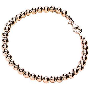 Bella 5mm Bead Bracelet - Rose Gold