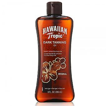 Hawaiian tropic dark tanning olie, origineel, 8 oz