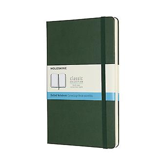 Large Dotted Myrtle Green HB Notebook