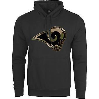 New Era Fleece CAMO Hoody - Los Angeles Rams black