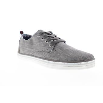 Ben Sherman Brahma Derby  Mens Gray Canvas Low Top Sneakers Shoes