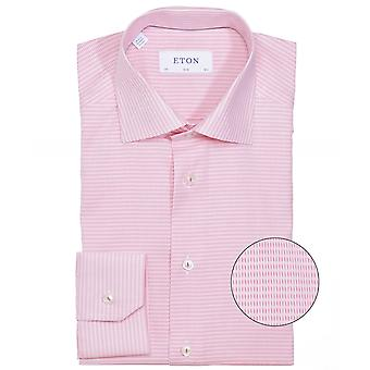 Eton slim fit Dobby geweven overhemd