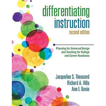 Differentiatie-instructie door Edited by Jacqueline S Thousand & Edited by Richard A Villa & Edited by Ann I Nevin