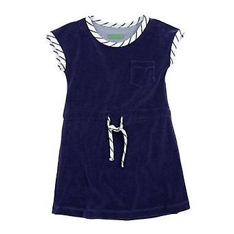 Lily Balou Feline Dress Terry Gentian Blue