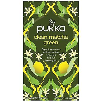 Pukka Clean Matcha Green Tea Bags 80