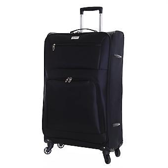 Karabar Lecce 78 cm Lightweight Large Suitcase, Black
