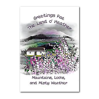 Embroidered Originals Greetings Fae The Land O Heather