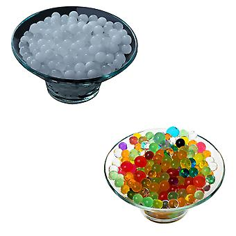 5g Water Balls for Vases White Mix