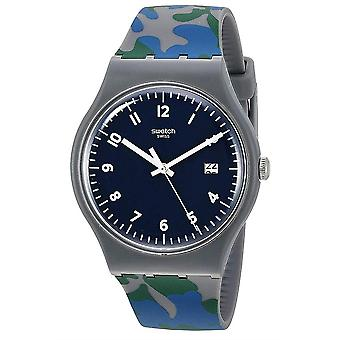 Swatch Camougreen Mens Horloge
