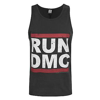 Amplified Run DMC Logo Charcoal Men's Kamizelka