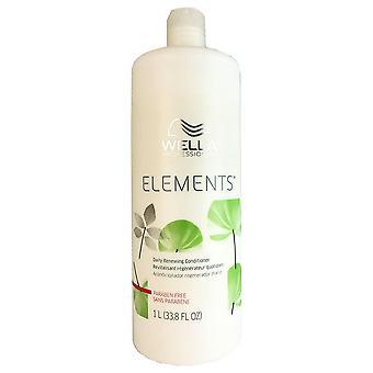 Wella elementen conditioner 33.8 oz voor het haar