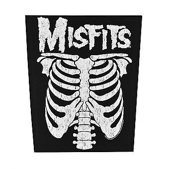 Misfits Ribcage Back Patch