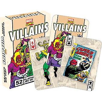 Marvel - villains retro playing cards