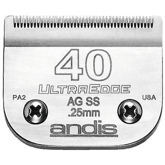 Andis UltraEdge lama in acciaio inox. S-40 (ambulatorio speciale)