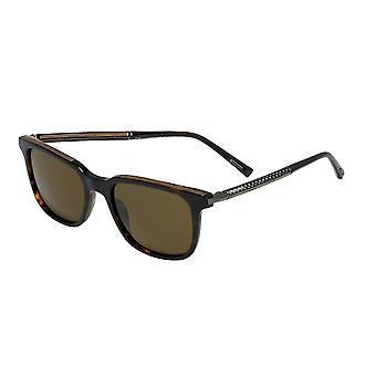 Chopard SCH263 722P Shiny Dark Havana/Polarised Brown Sunglasses
