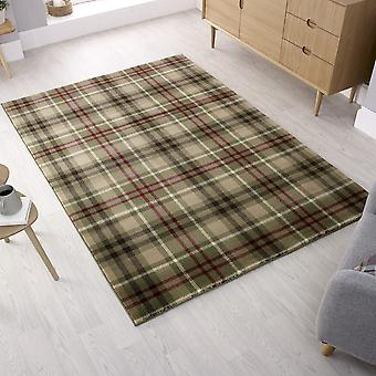 Cocktail Highland Rugs In Green