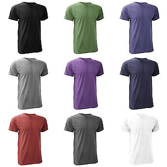 Anvil Mens V Neck Fashion Tee / T-Shirt