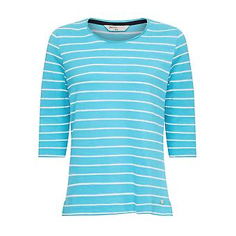 PENNY PLAIN Lagoon Striped Top