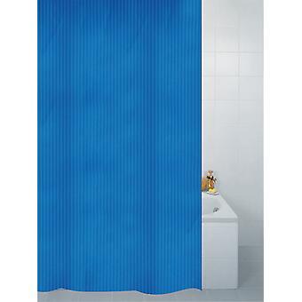 Bleu Textile rayure Polyester douche Rideau 180 x 180cm