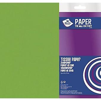 Haza Tissue paper lime green 18gr 5SH 50x70cm 185943