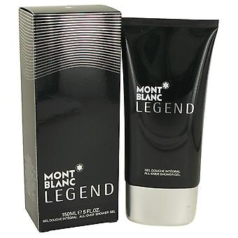 Montblanc Legend Shower Gel av Mont Blanc 5 oz Shower Gel