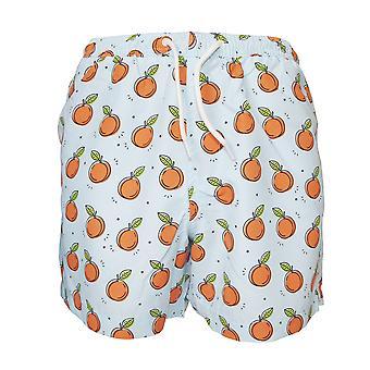 Brave Soul Mens Peaches Design Swimming Trunks