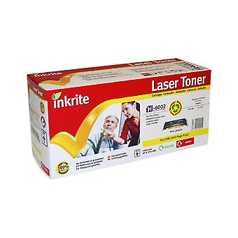 Inkrite Laser Toner Cartridge Compatible avec HP 1600/2600/2605 jaune
