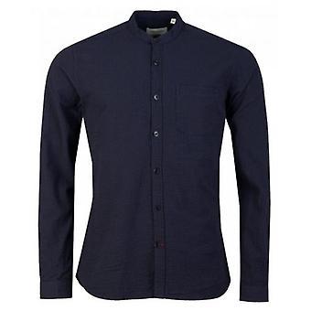 Oliver Spencer Hattison Seersucker Grandad Shirt