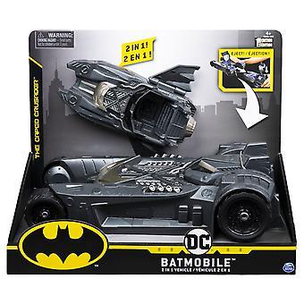DC Batman Batmobile og Batboat